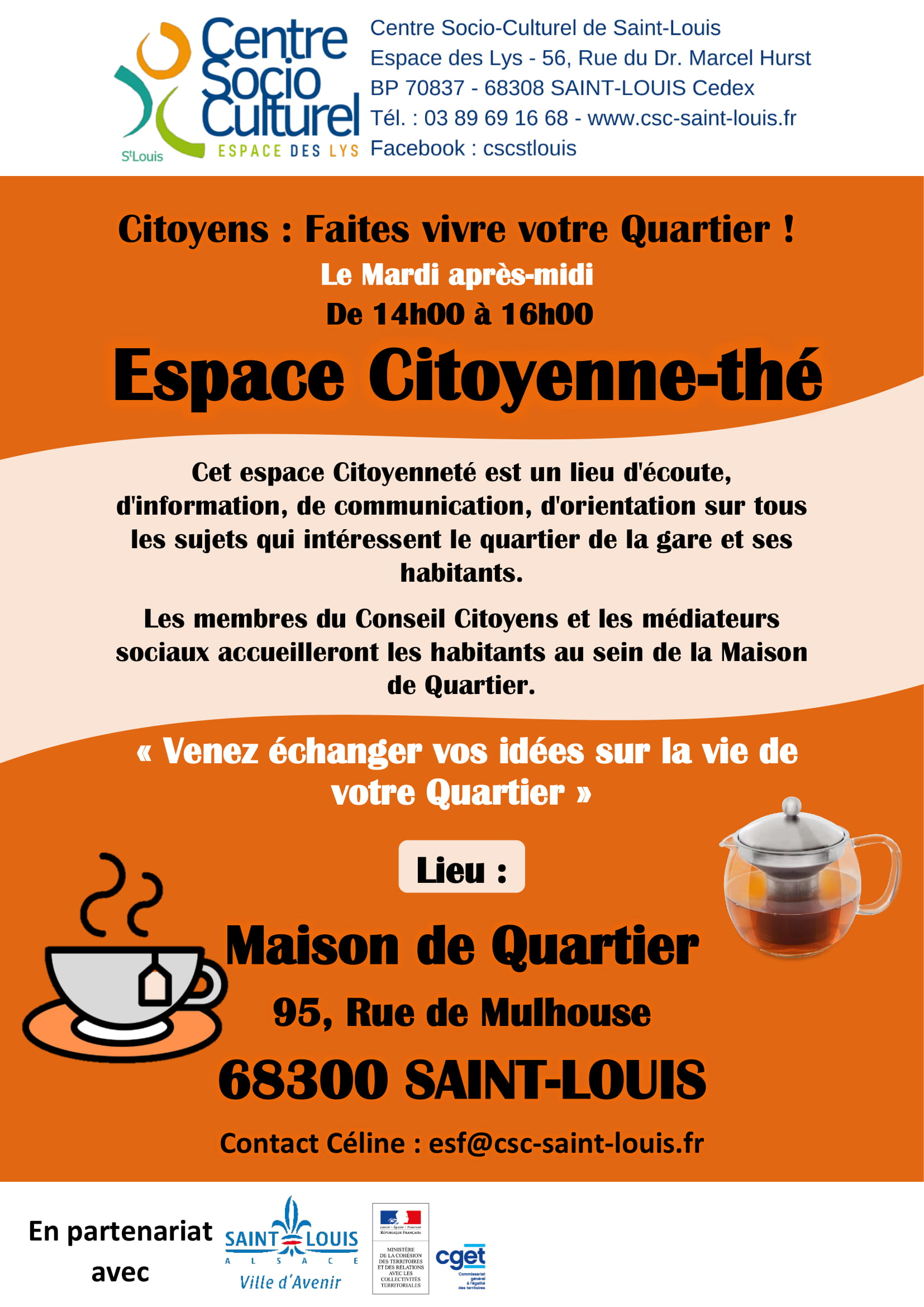 Espace Citoyenne'the