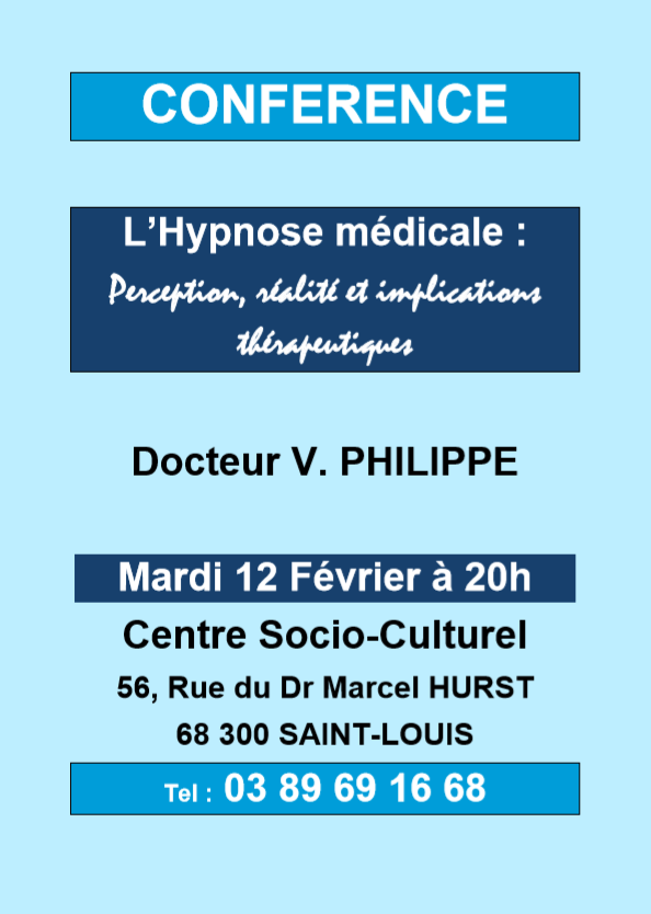Conférence Hypnose Médicale