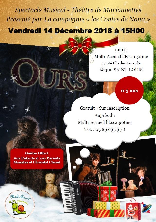 Spectacle Musical - Théâtre de marionnettes